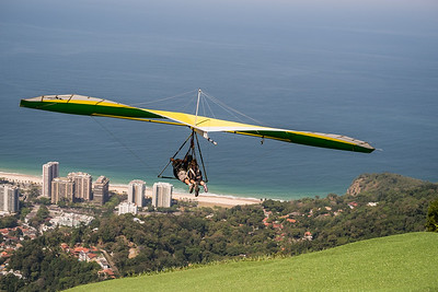 Hang Gliders over Rio