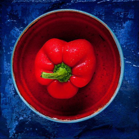 Red Bowl Series - Red Pepper