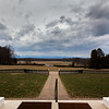 View from the porch of James Madison's Montpelier, Orange, Virginia