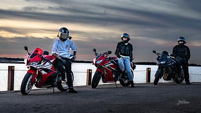 Three Bikers-1