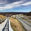 Interstate 68 at Sideling Hill, Hancock, Maryland