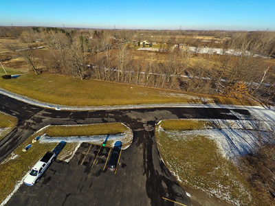Touch of Snow at the Park 6 : Aerial Photography from Project Aerospace