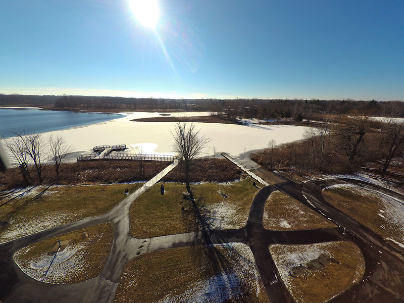 Touch of Snow at the Park 36 : Aerial Photography from Project Aerospace