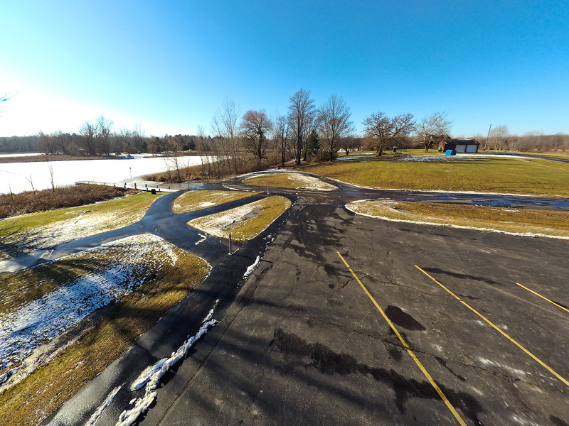 Touch of Snow at the Park 27 : Aerial Photography from Project Aerospace