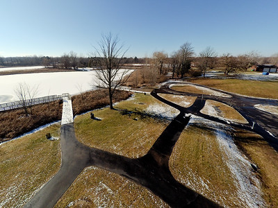 Touch of Snow at the Park 19 : Aerial Photography from Project Aerospace