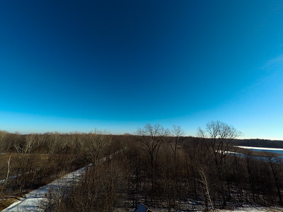 Touch of Snow at the Park 11 : Aerial Photography from Project Aerospace