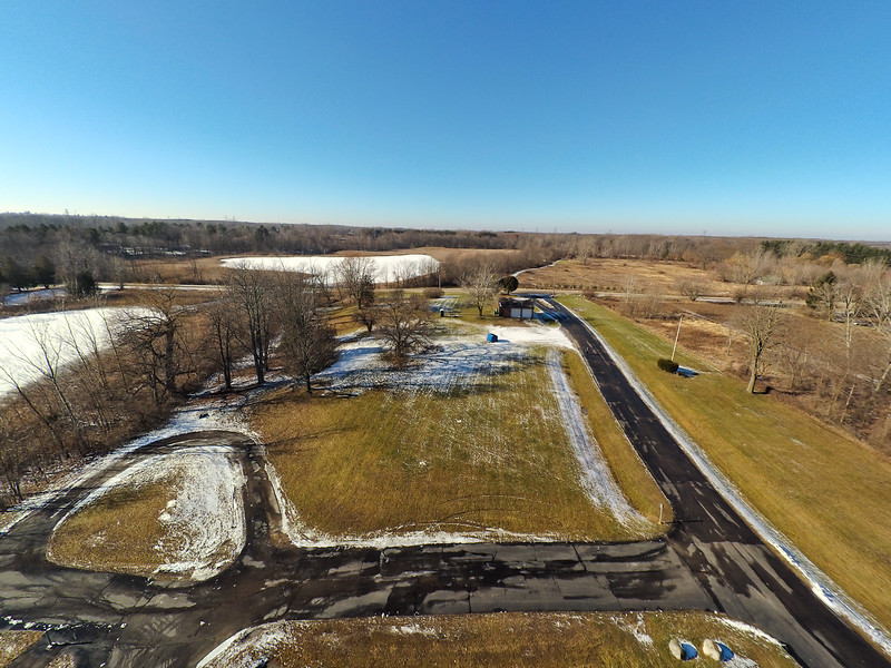 Touch of Snow at the Park 21 : Aerial Photography from Project Aerospace