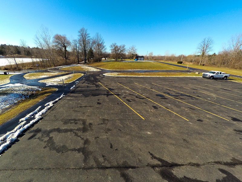 Touch of Snow at the Park 1 : Aerial Photography from Project Aerospace