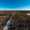 Touch of Snow at the Park 13 : Aerial Photography from Project Aerospace