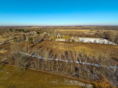 Touch of Snow at the Park 8 : Aerial Photography from Project Aerospace
