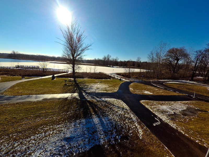 Touch of Snow at the Park 37 : Aerial Photography from Project Aerospace