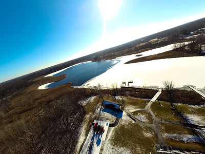 Touch of Snow at the Park 14 : Aerial Photography from Project Aerospace