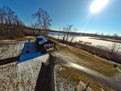 Touch of Snow at the Park 17 : Aerial Photography from Project Aerospace