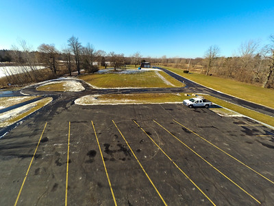 Touch of Snow at the Park 2 : Aerial Photography from Project Aerospace