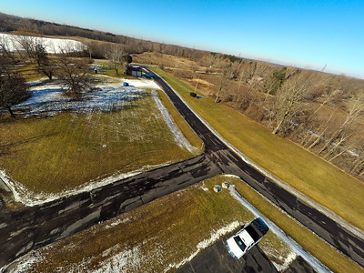 Touch of Snow at the Park 5 : Aerial Photography from Project Aerospace