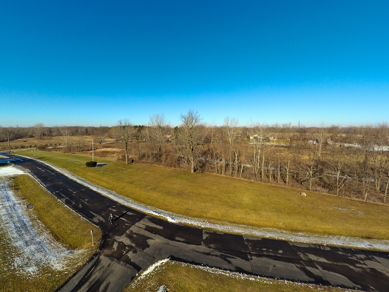 Touch of Snow at the Park 23 : Aerial Photography from Project Aerospace