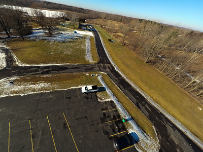 Touch of Snow at the Park 4 : Aerial Photography from Project Aerospace