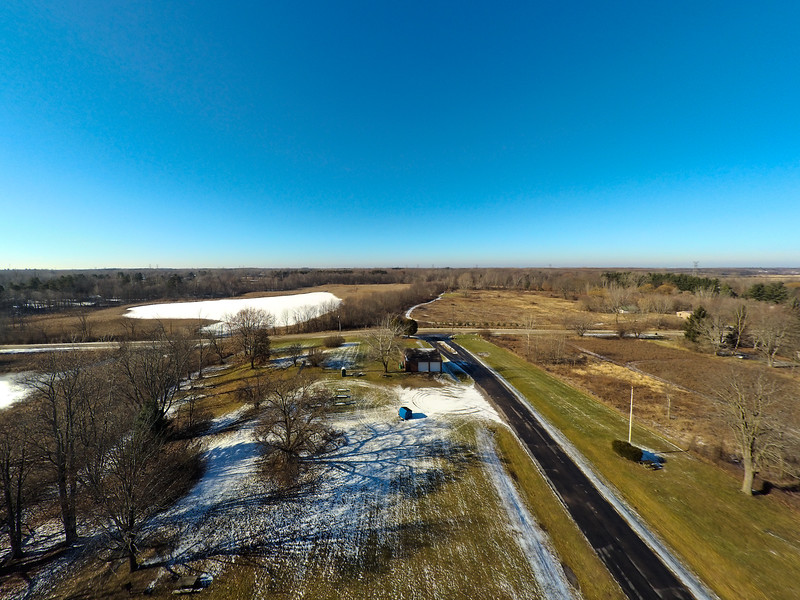Touch of Snow at the Park 22 : Aerial Photography from Project Aerospace