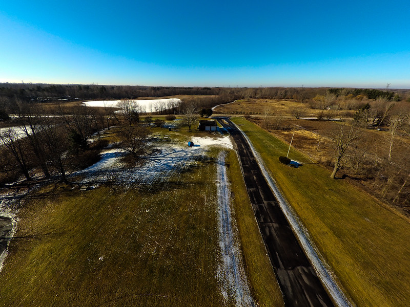 Touch of Snow at the Park 39 : Aerial Photography from Project Aerospace