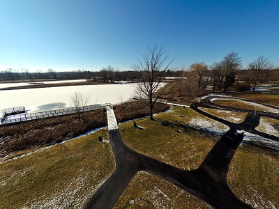 Touch of Snow at the Park 18 : Aerial Photography from Project Aerospace