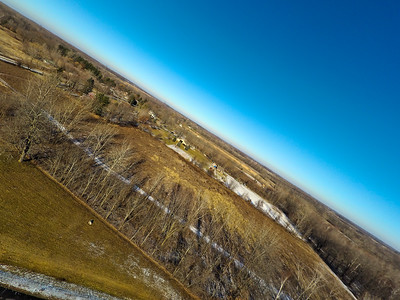Touch of Snow at the Park 7 : Aerial Photography from Project Aerospace