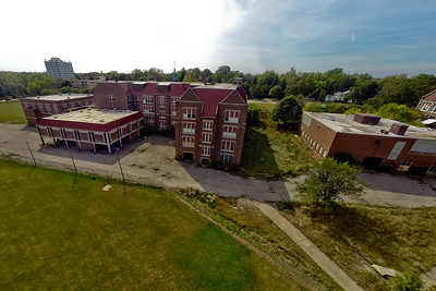 Deserted Architecture in Summer 5 : Aerial Photography from Project Aerospace