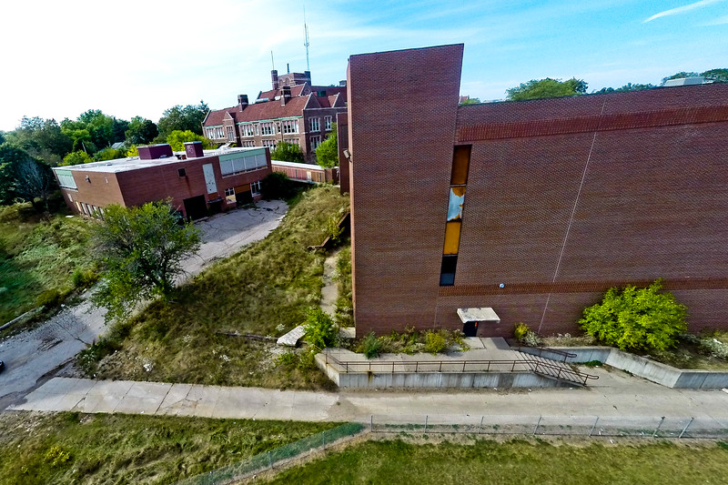 Deserted Architecture in Summer 20 : Aerial Photography from Project Aerospace
