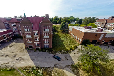 Deserted Architecture in Summer 10 : Aerial Photography from Project Aerospace