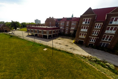 Deserted Architecture in Summer 9 : Aerial Photography from Project Aerospace
