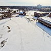 Deserted Architecture in Winter 2 : Aerial Photography from Project Aerospace