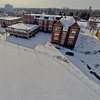 Deserted Architecture in Winter 12 : Aerial Photography from Project Aerospace