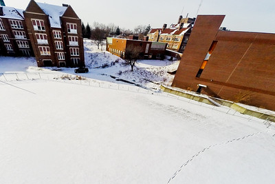 Deserted Architecture in Winter 8 : Aerial Photography from Project Aerospace