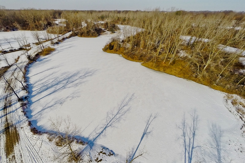 Winter with the Lakes and Forests 9 : Aerial Photography from Project Aerospace