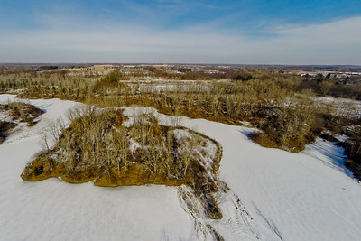 Winter with the Lakes and Forests 10 : Aerial Photography from Project Aerospace