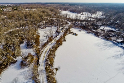 Winter with the Lakes and Forests  18 : Aerial Photography from Project Aerospace