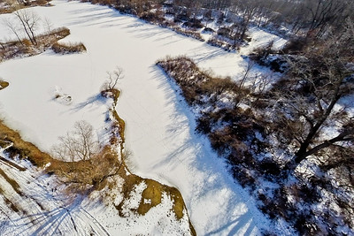 Winter with the Lakes and Forests 13 : Aerial Photography from Project Aerospace
