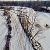 Winter with the Lakes and Forests  6 : Aerial Photography from Project Aerospace