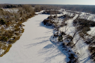 Winter with the Lakes and Forests  2 : Aerial Photography from Project Aerospace