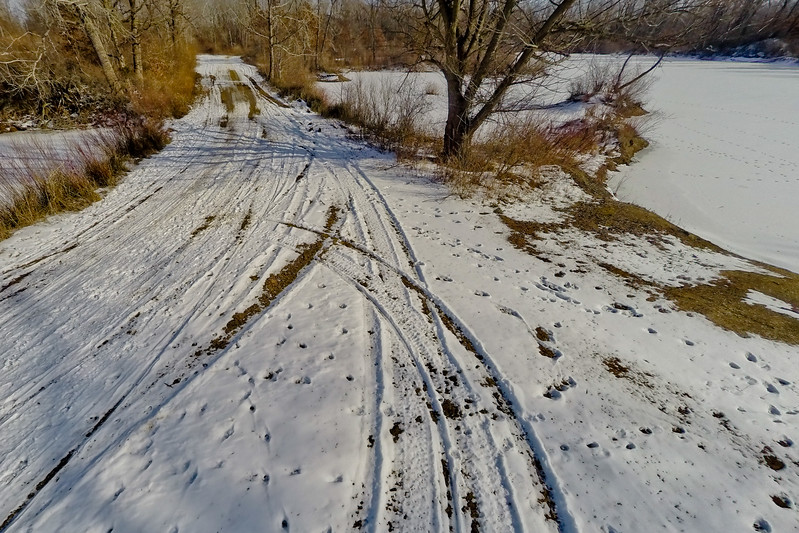 Winter with the Lakes and Forests 16 : Aerial Photography from Project Aerospace