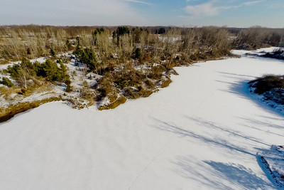 Winter with the Lakes and Forests  1 : Aerial Photography from Project Aerospace
