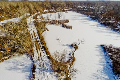 Winter with the Lakes and Forests 15 : Aerial Photography from Project Aerospace
