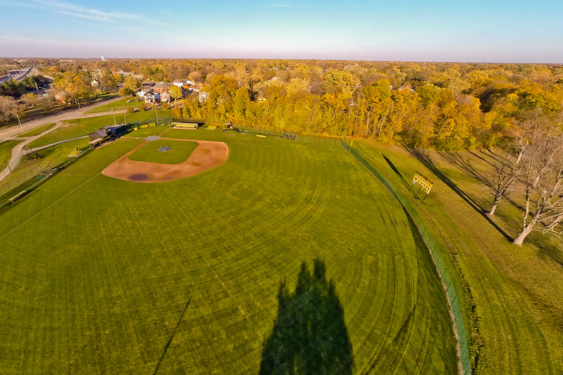 Deep Autumn Field and Forest  17 : Aerial Photography from Project Aerospace