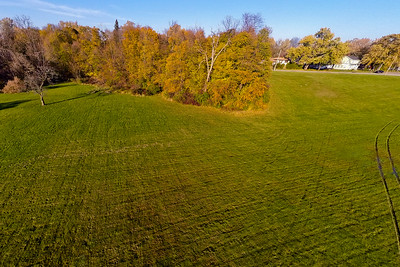 Deep Autumn Field and Forest  10 : Aerial Photography from Project Aerospace