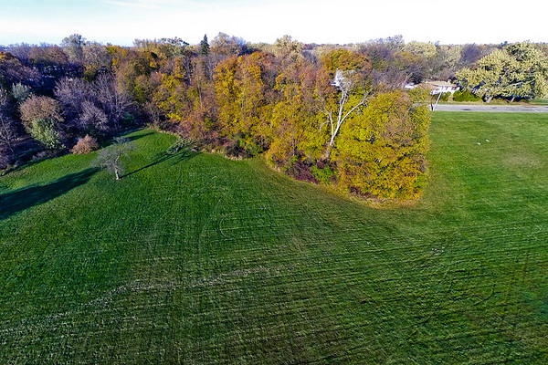 Deep Autumn Field and Forest  8 : Aerial Photography from Project Aerospace