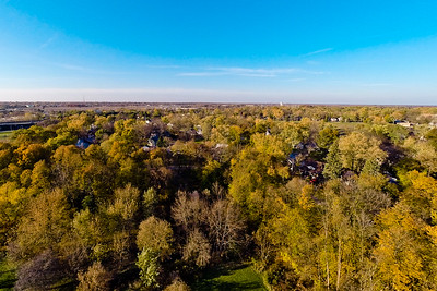 Deep Autumn Field and Forest  12 : Aerial Photography from Project Aerospace
