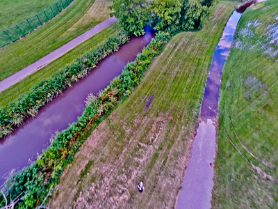 Summer Sunset at the Park 1 : Aerial Photography from Project Aerospace