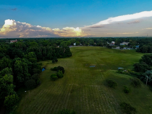 Summer Sunset at the Park 23 : Aerial Photography from Project Aerospace
