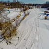 Deep Winter Field and Forest 9 : Aerial Photography from Project Aerospace