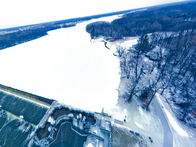 Stepping Stone Falls Soft Light Aerial Photography 22