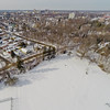 Community Park in Winter 3 : Aerial Photography from Project Aerospace